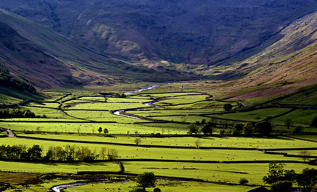 The Lake District – best for green landscapes
