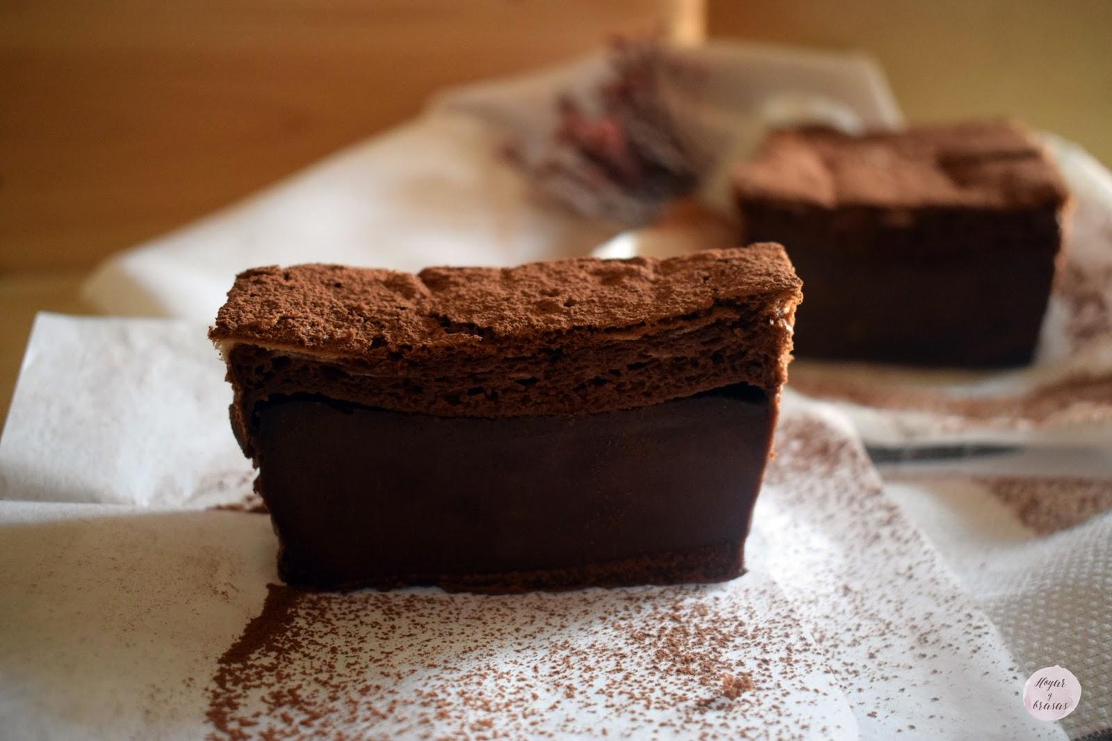 Pastel mágico de Cacao.
