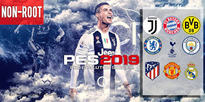 PES 2019 Mobile Android Minimum Patch 2019 ( Non-Rooted )