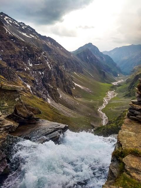 Upper waterfall Rupin