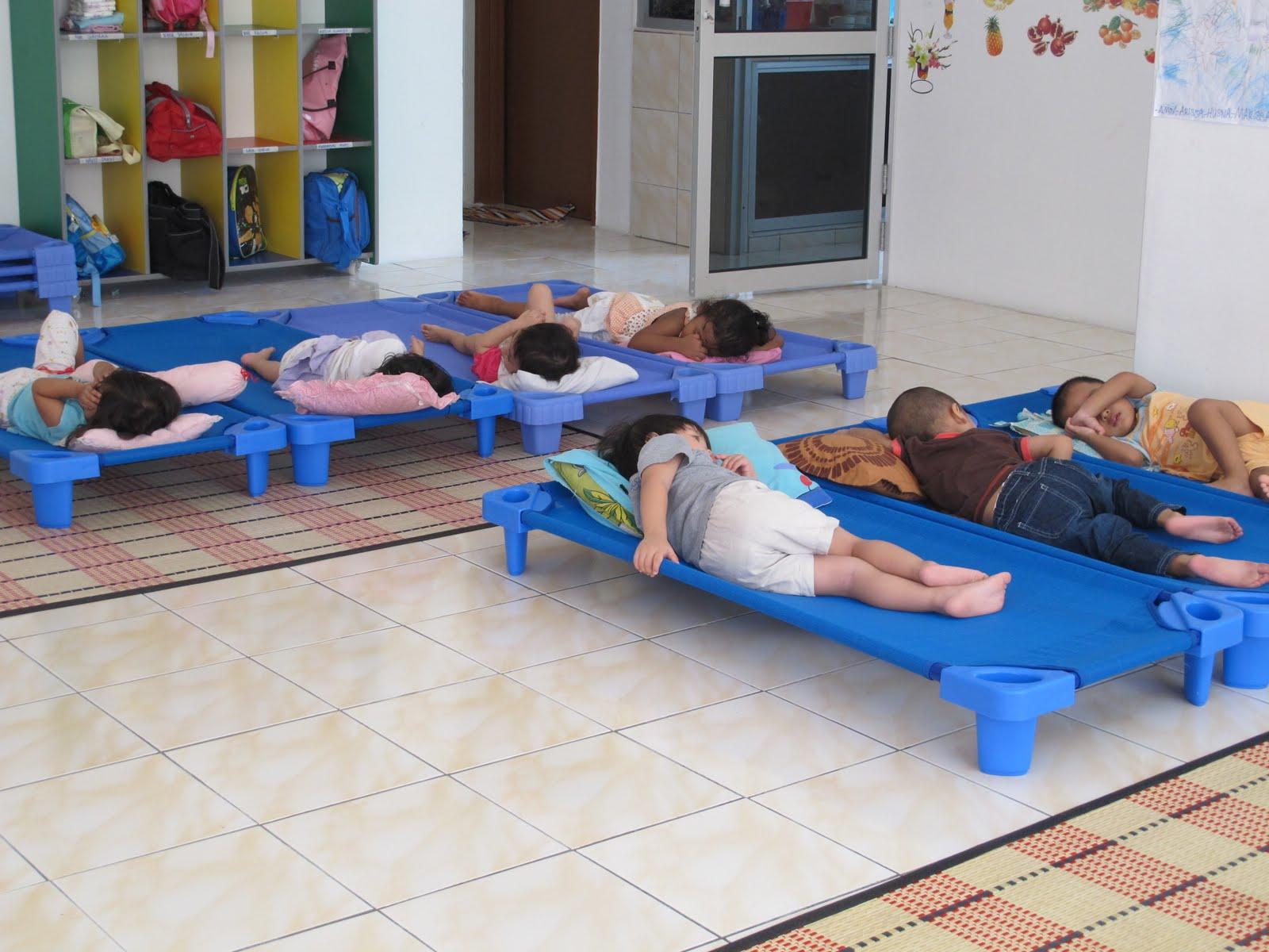 Masa Untuk Rehat Dan Tidur Anak Di Taska Ummi Ini Semuanya Akan Selepas Makan Mandi Berasa Selesa
