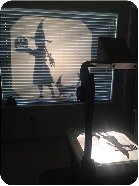 cute halloween silhouette