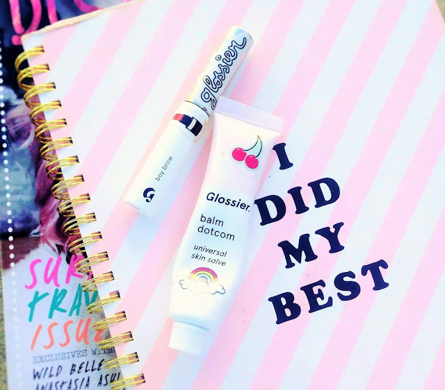 """I Did My Best"" w/Glossier BalmDotCom and Boy Brow 