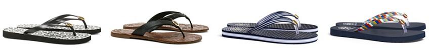 Tory Burch Flip Flops $35 (reg $50)