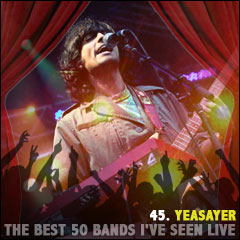 The Best 50 Bands I've Seen Live: 45. Yeasayer