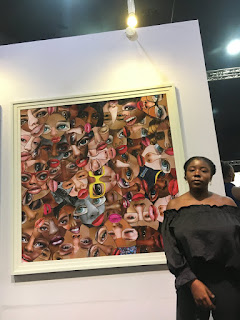 ArtX lagos 2019  mixed media