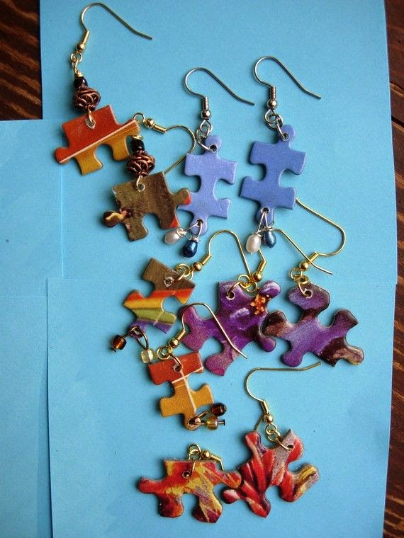 How To Recycle Recycled Jigsaw Puzzle Pieces