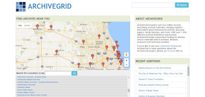 Amazing Archives Search Resource: ArchiveGrid
