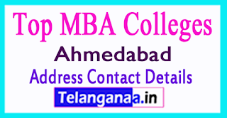 Top MBA Colleges in Ahmedabad