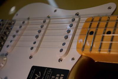 Fender USA / American Original 50s Stratocaster Aztec Gold