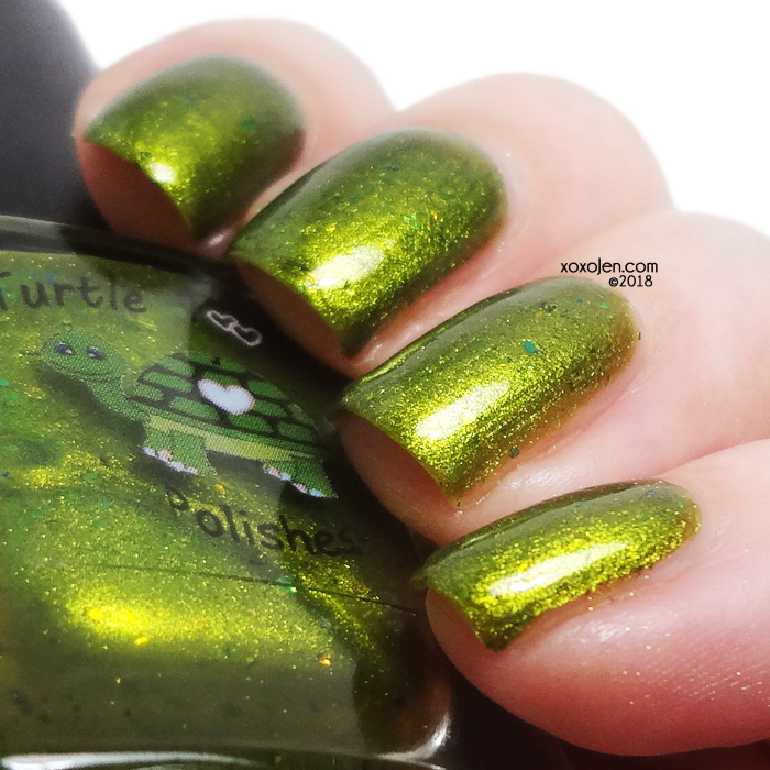 xoxoJen's swatch of Turtle Tootsie Leprechaun's Gold