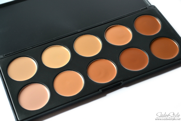 10 Color Cosmetics Concealer Camouflage Palette