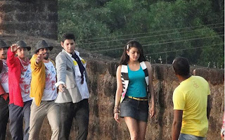Mahesh Prince Exclusive pic on 'Bussinessmen'