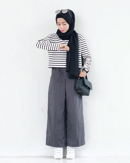 Trend 2016 Model Celana Kulot Untuk Wanita