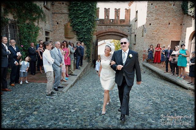 fotografo matrimonio Castello di Tagliolo