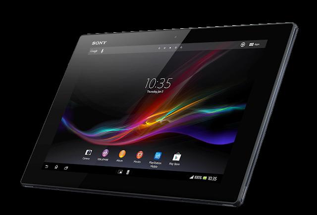 Spesifikasi dan Harga Tablet Sony Xperia Z