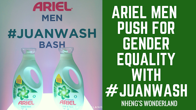 Ariel Men Push for Gender Equality with #JuanWash