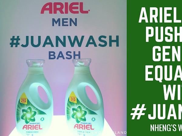 Ariel Men Push for Gender Equality with #JuanWash