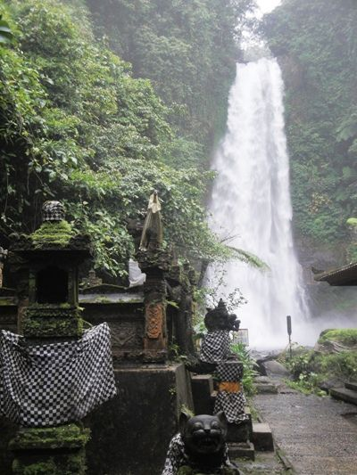 Gitgit Buleleng Singaraja Waterfall - Waterfall, Gitgit village, North Buleleng, Singaraja, Bali, Holidays, Leisure, Attractions