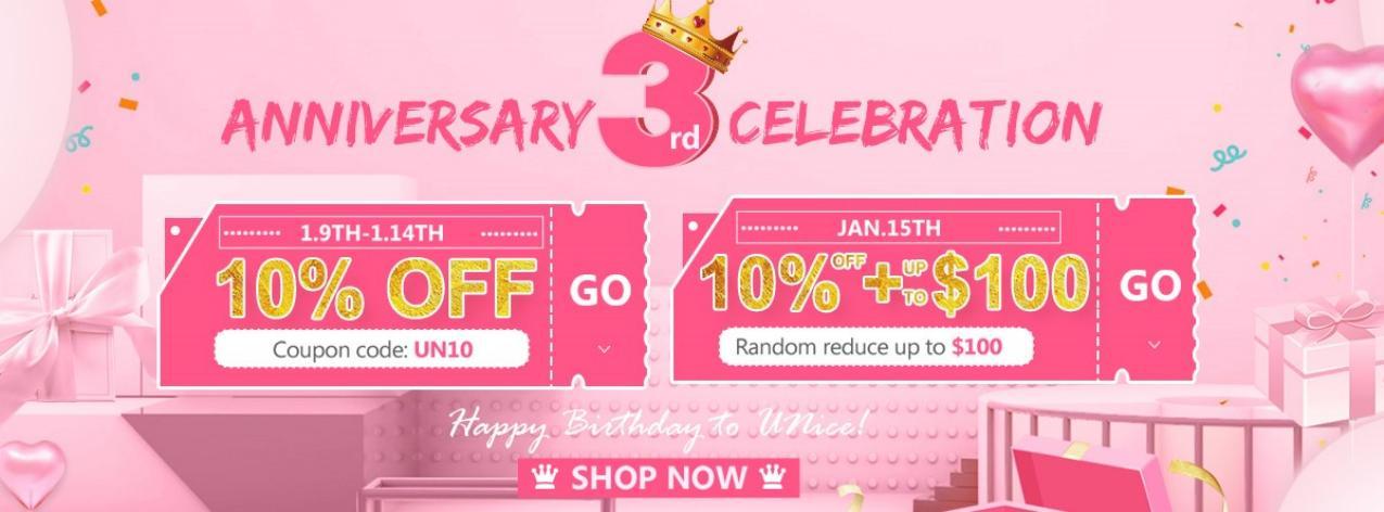 UNice 3rd Anniversary Celebration