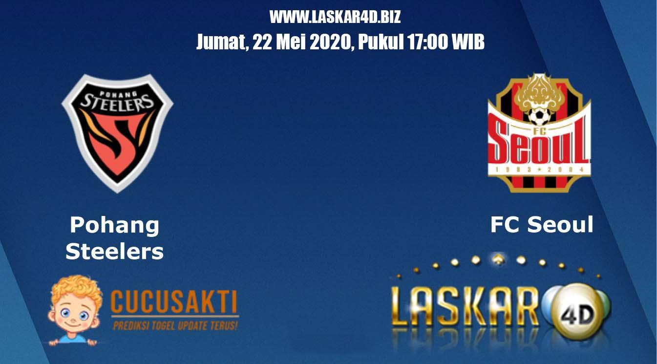 Prediksi Bola Pohang Steelers vs FC Seoul Jumat, 22 Mei 2020