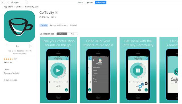 iPhone用コフィティシティアプリ