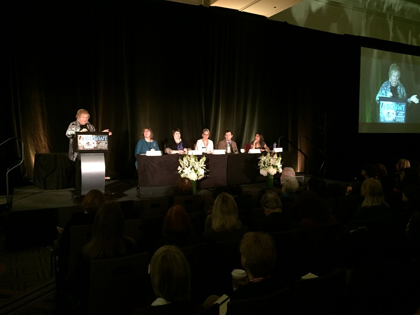 The Official SCBWI Conference Blog: Tha Agent Panel Begins!