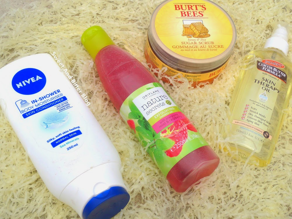 Bath Favorites // Body Oil for Summers (Palmer's Skin Therapy Oil)