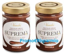 Logo Suprema Crema spalmabile Venchi: diventa tester