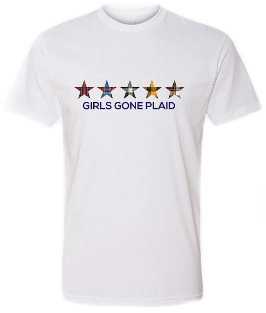 GIRLS GONE PLAID TEES NOW AVAILABLE