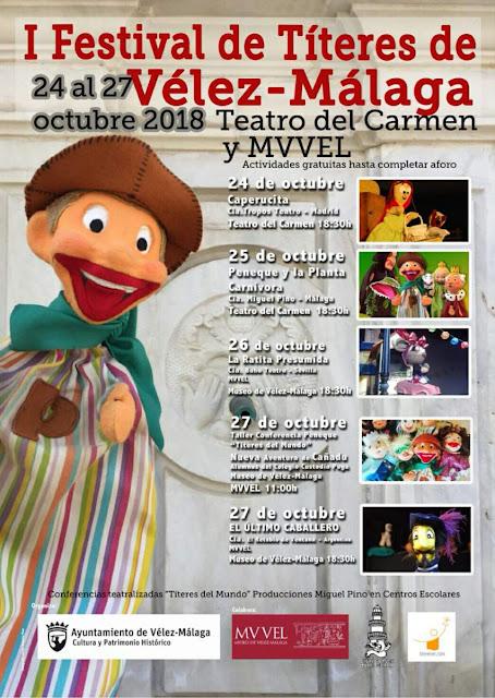 I Festival de Títeres de Vélez-Málaga
