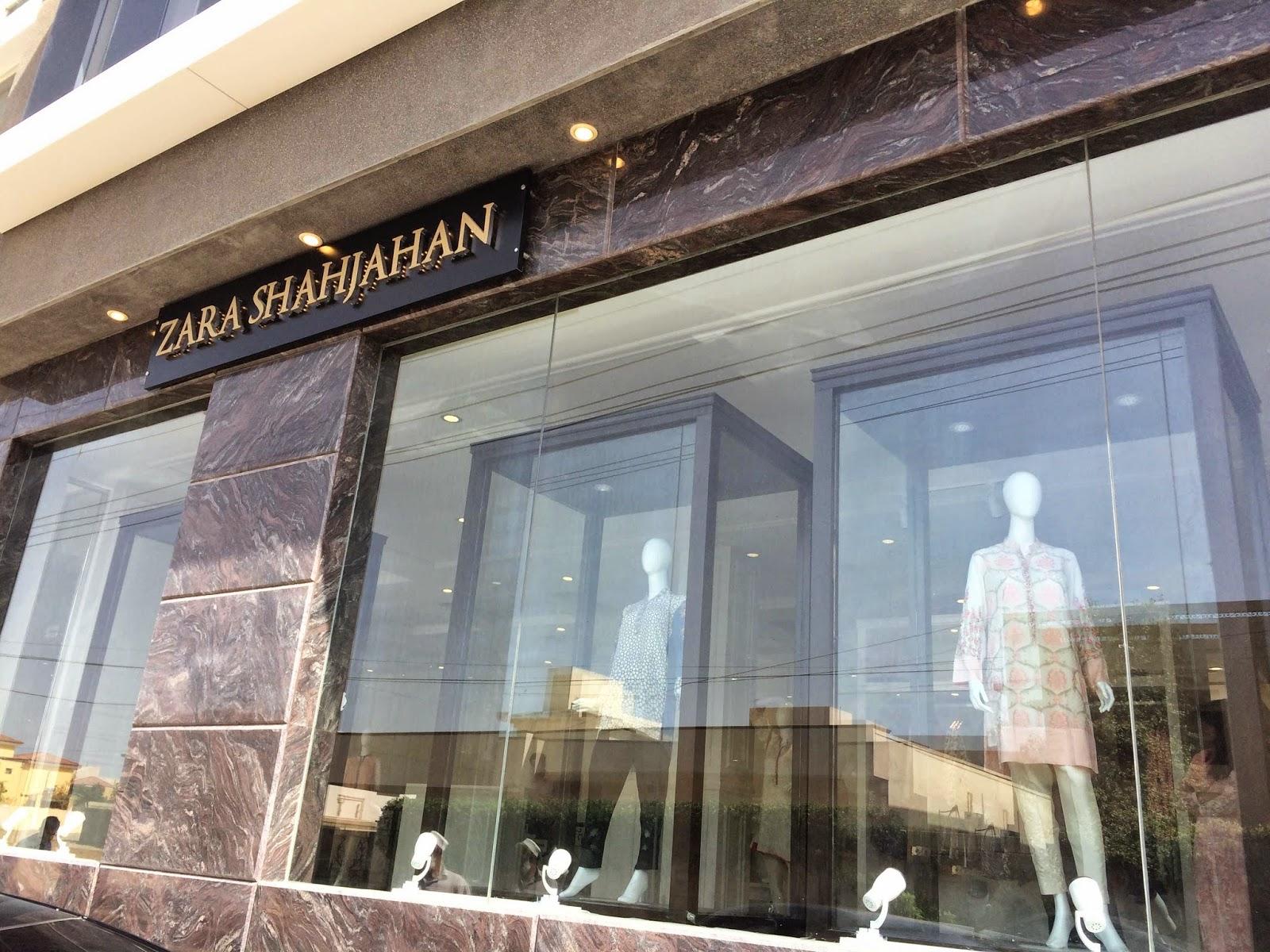 Zara Shahjahan Storefront Karachi