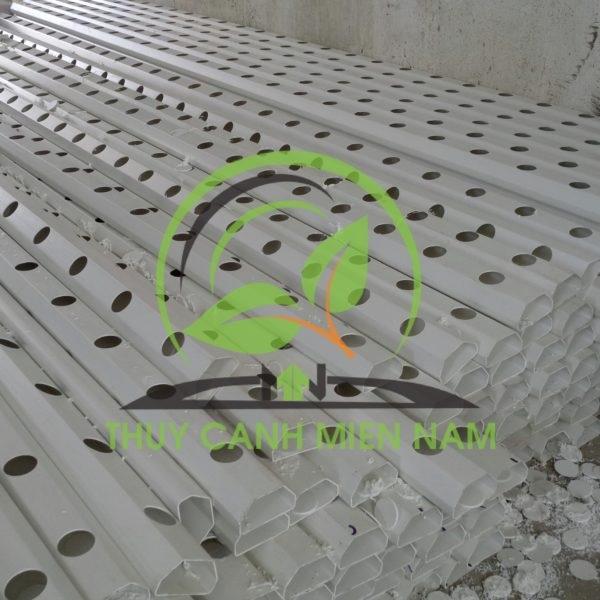 ống nhựa trồng rau thủy canh