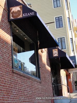 exterior of Keane Eyes Gallery in San Francisco