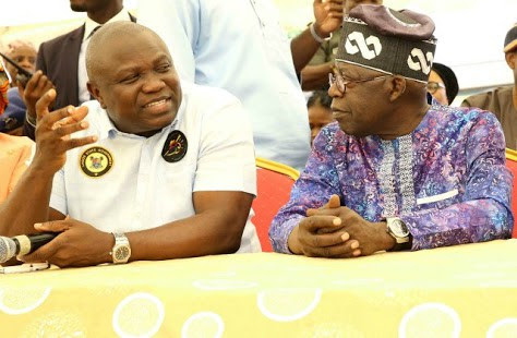 AMBODE UNDER PRESSURE: Tinunu Orders Him To Surrender... He Says No