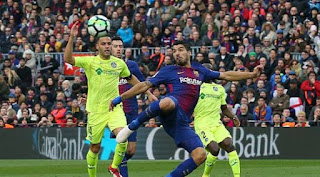Barcelona Ditahan Imbang Getafe 0-0