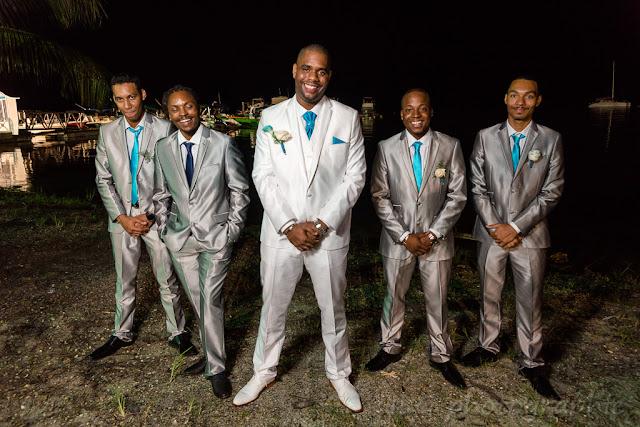 mariage Guadeloupe garçons d'honneur