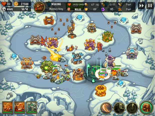 Download Game Empire Warriors: Tactical Tower Defense Mod cho Android
