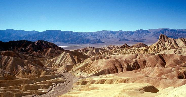 Death Valley, Keindahan di Tengah Kesunyian