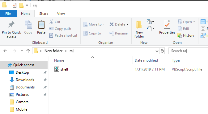 Exploiting Windows using Contact File HTML Injection/RCE