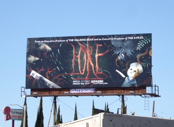 Lore series launch billboard