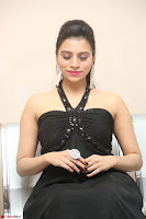 Priyanka in Sleeveless Black Slim Dress Spicy Pics ~  Exclusive 12.JPG
