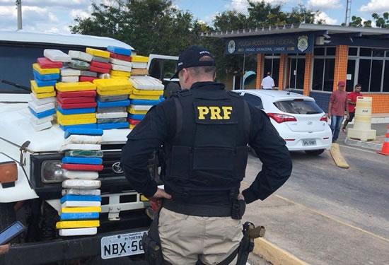 RONÔNIA EXPORTA TRAFICANTE: Morador de Rondônia pego com 130 quilos de cocaína no Ceará