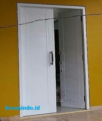 Bengklel Las Pintu Besi Minimalis Dua Pintu Modern Di Jabodetabek