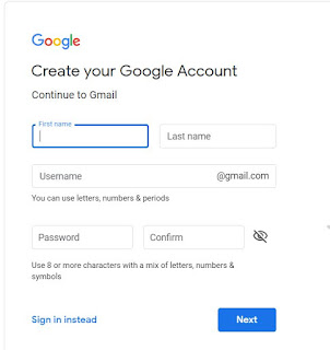 How to create an Email id