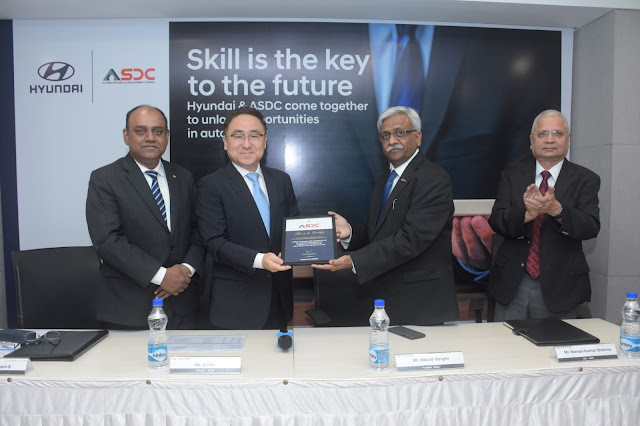 Hyundai Motor India Signs MoU with Automotive Skills Development Council (ASDC)