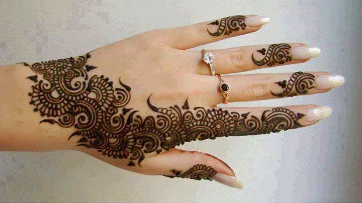 New Designs Mehndi Hands : Simple awesome mehandi design new designs
