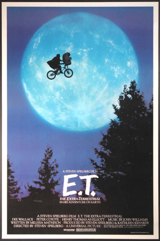 The Geeky Guide To Nearly Everything Movies E T The Extra Terrestrial 1982