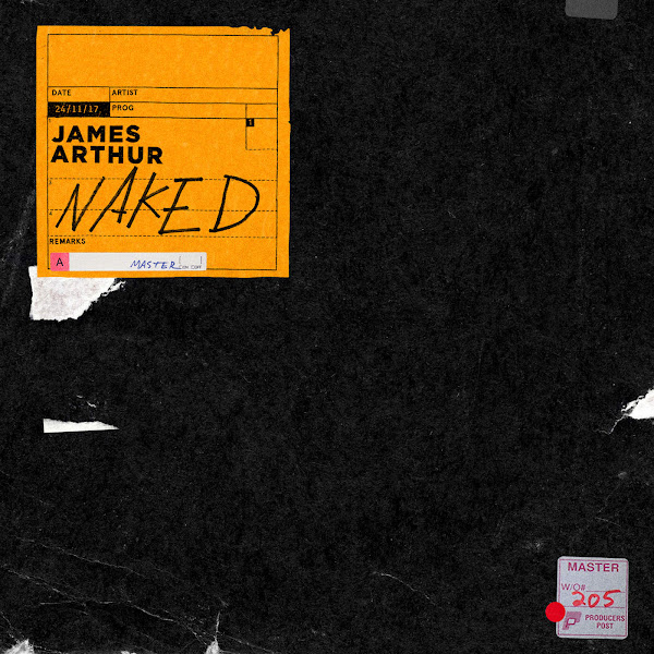 James Arthur - Naked - Single Cover