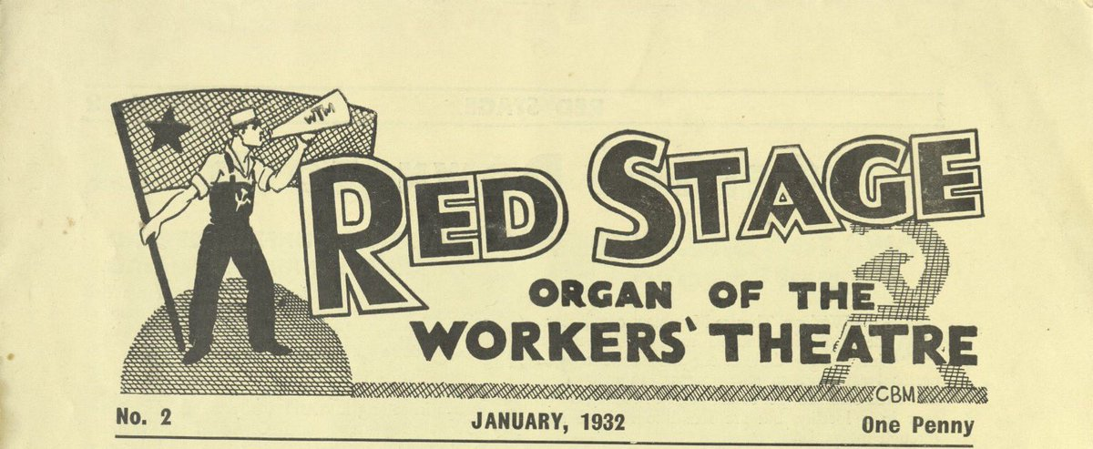 Transpontine: Red Stage: the 1930s Workers Theatre Movement